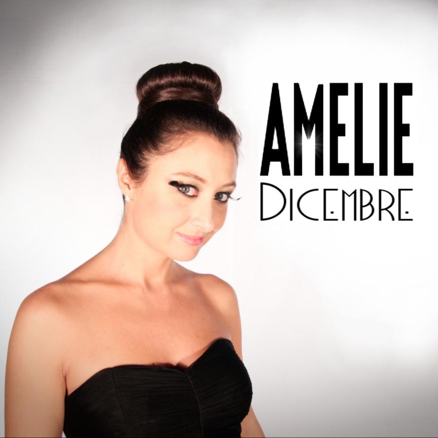 """Gli astratti contrasti di Amelie diventano le immagini della canzone """"Dicembre"""""""