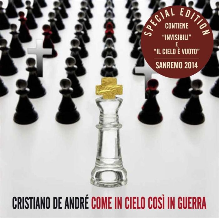 """(@Cristiano_De_A) CRISTIANO DE ANDRÉ: da oggi in radio """"IL CIELO È VUOTO"""" domani esce l'album """"COME IN CIELO COSÌ IN GUERRA (SPECIALEDITION)"""""""