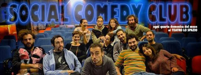 Social Comedy Club, 23 novembre 2014, Teatro Lo Spazio