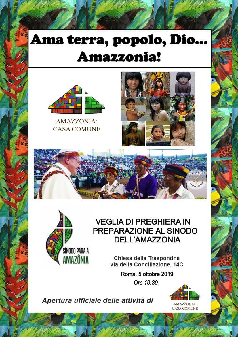 Amazzonia: casa comune.