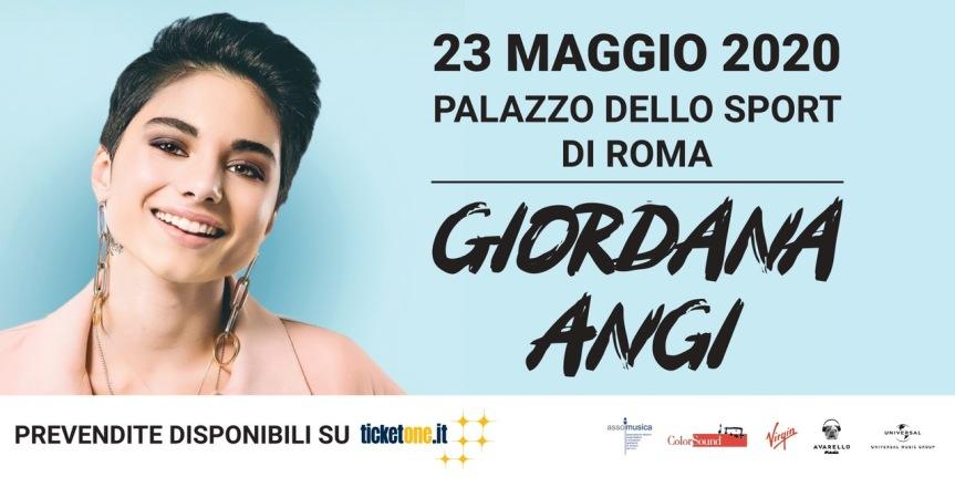 The GIORDANA ANGI Day il 23 Maggio 2020 aRoma