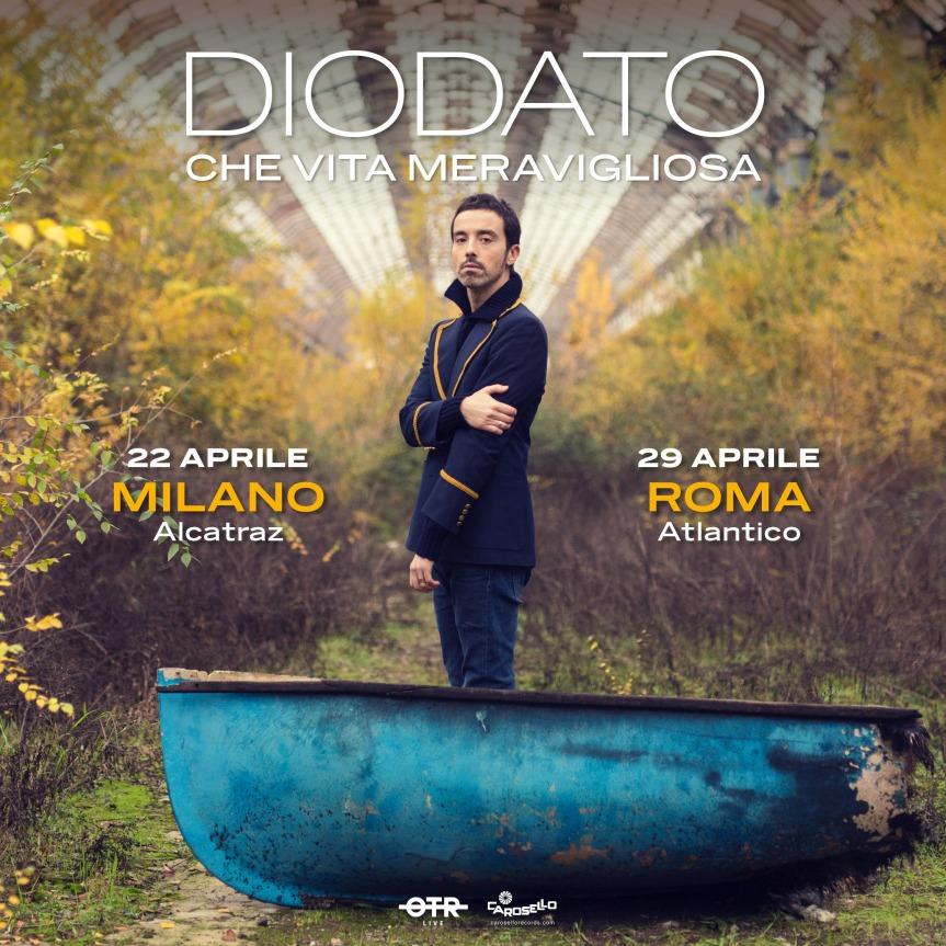 Diodato | Alcatraz e Atlantico, due date a Milano eRoma